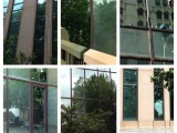 Before and After Glass Window Cleaning